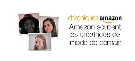 Amazon soutient les créatrices de mode de demain
