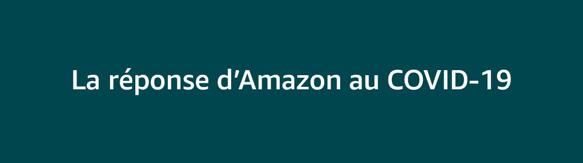 La réponse d'Amazon au COVID-19