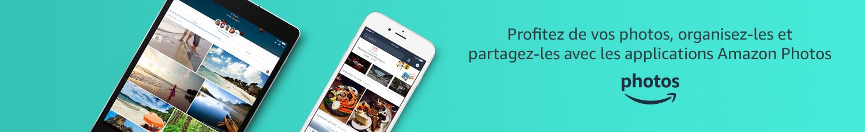 Profitez de vos photos, organisez-les et partagez-les avec les applications Amazon Photos