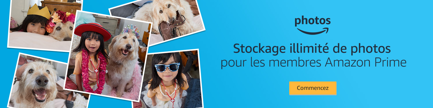 Premium Photos pour les membres d'Amazon Premium