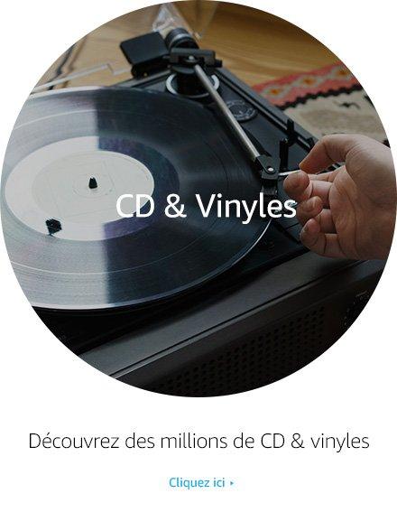 Découvrez la boutique Musique CD & Vinyles - Des millions de CD & vinyles