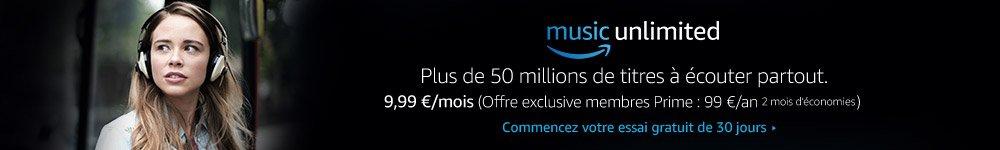 Amazon Music Unlimited - Écoutez plus de 50 millions de titres en streaming et en illimité sur tous vos appareils