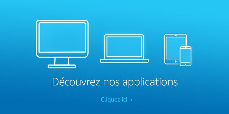 Découvrez nos applications Amazon Music sur téléphone, tablette, ordinateur etc.