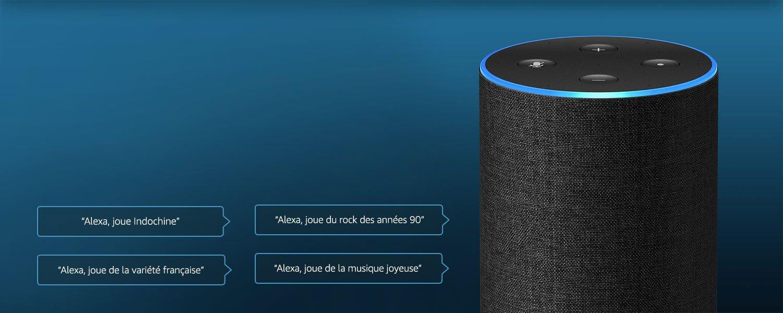 Amazon Music est encore mieux avec Echo
