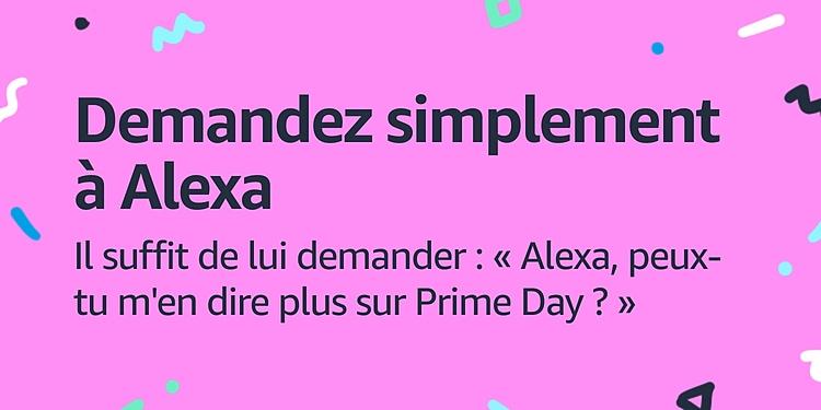 Demandez à Alexa