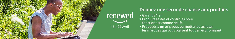 Amazon Renewed - produits reconditionné fiables