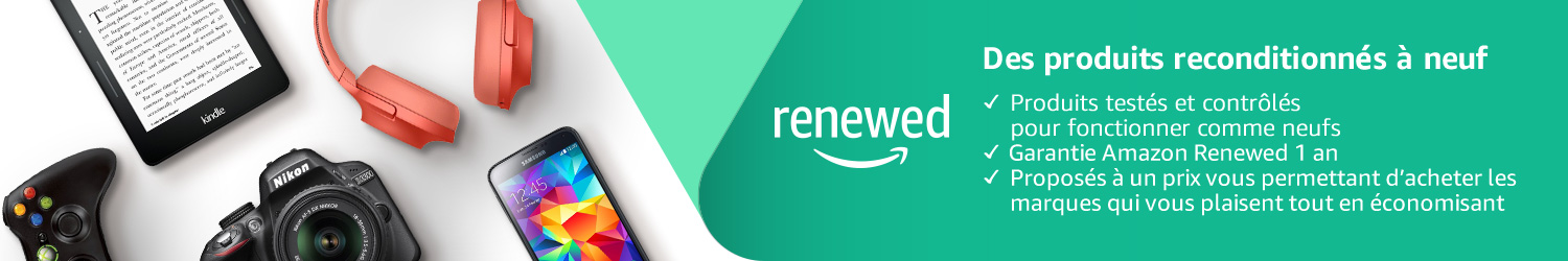 Amazon Renewed - produits reconditionné fiables