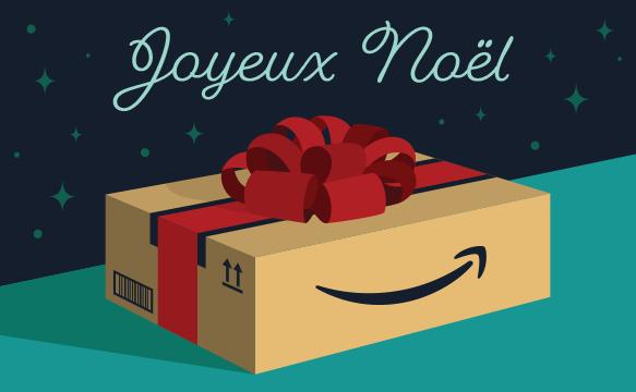 Amazon Cadeaux De Noel Chèque cadeau Amazon.fr   E mail   Colis de noël
