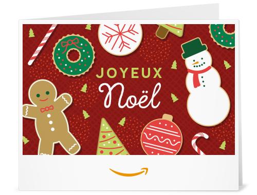 Conception de la carte cadeau Amazon.com