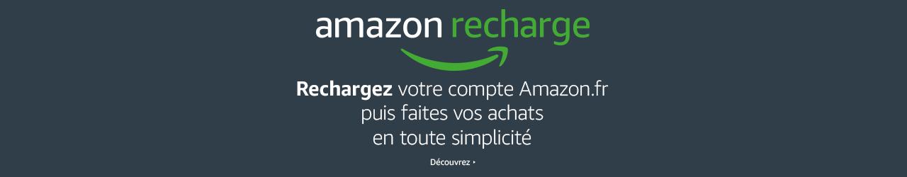 Rechargez votre compte Amazon.fr puis faites vos achats en toute simplicité