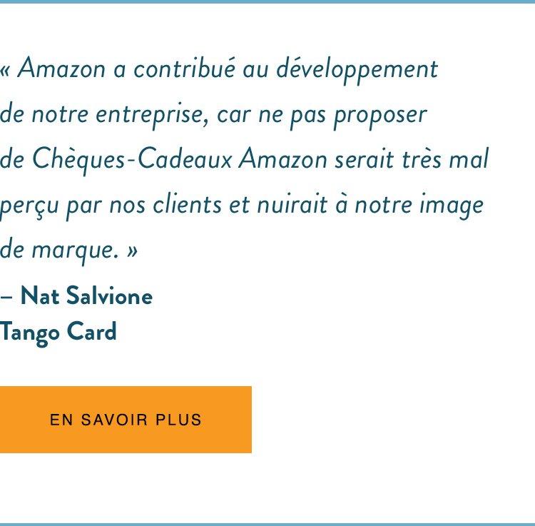 Témoignage - Tango Card