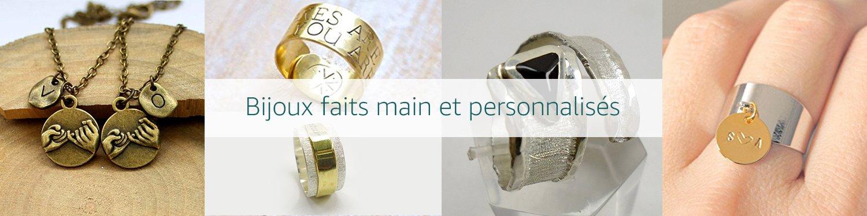 Bijoux faits-main et personnalises