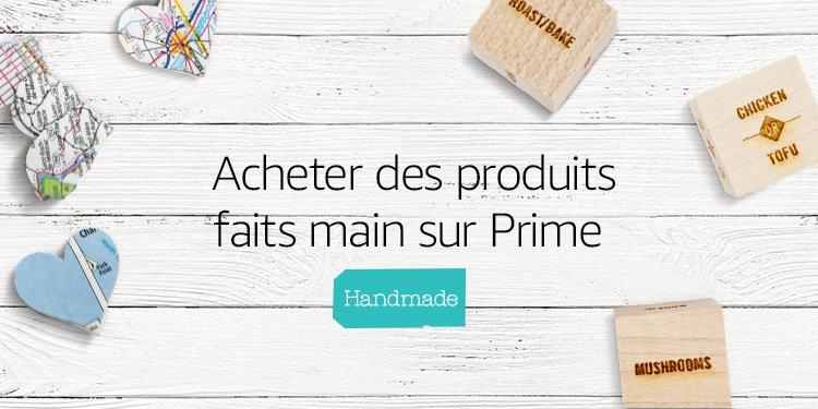 Acheter des produits faits main sur Prime