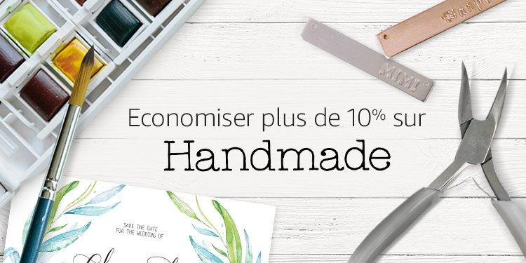Economiser plus de 10% sur Handmade