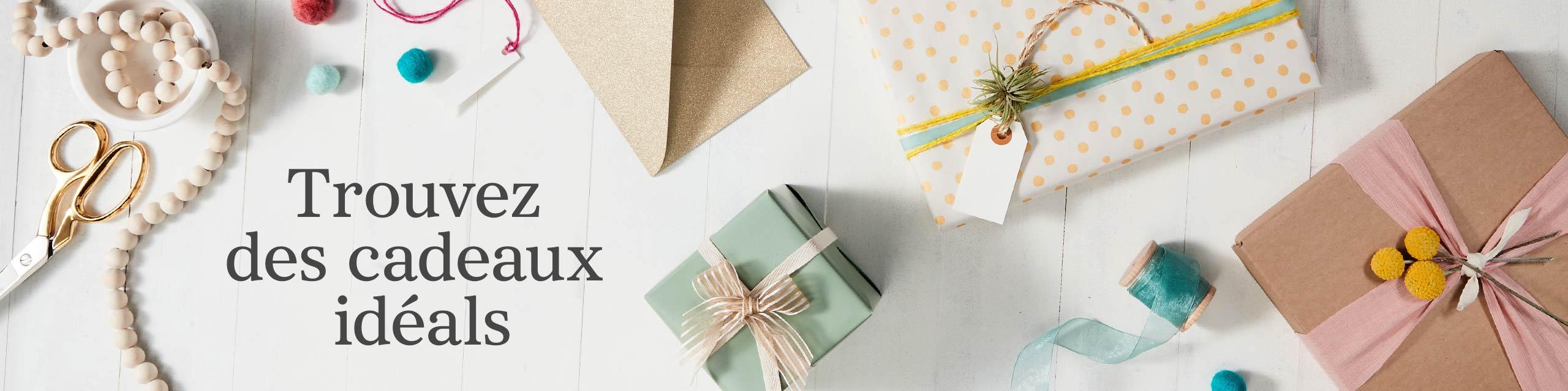 Fait pour vous Trouvez des cadeaux et décorations idéales