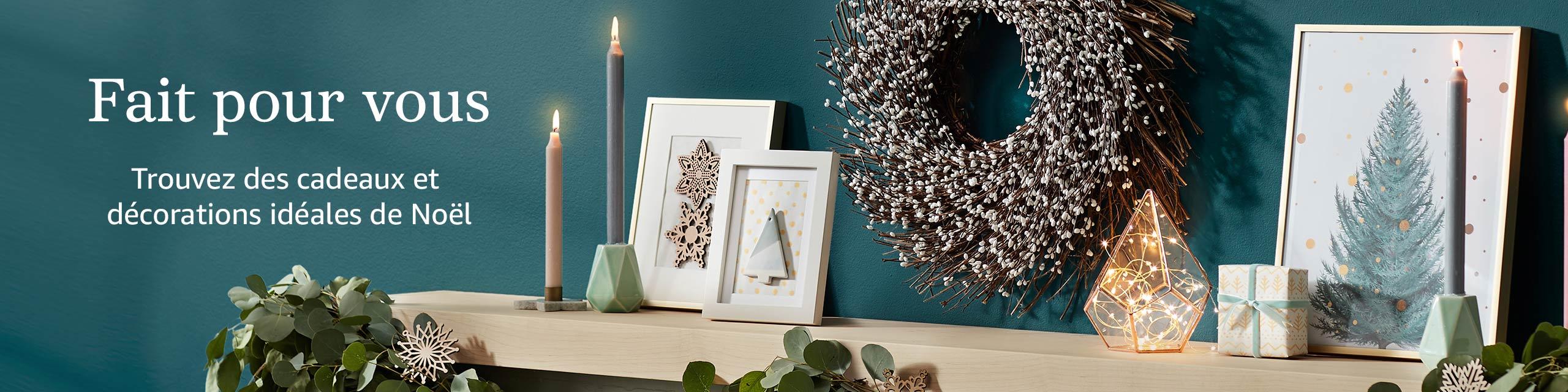 Fait pour vous Trouvez des cadeaux et décorations idéales de Noël