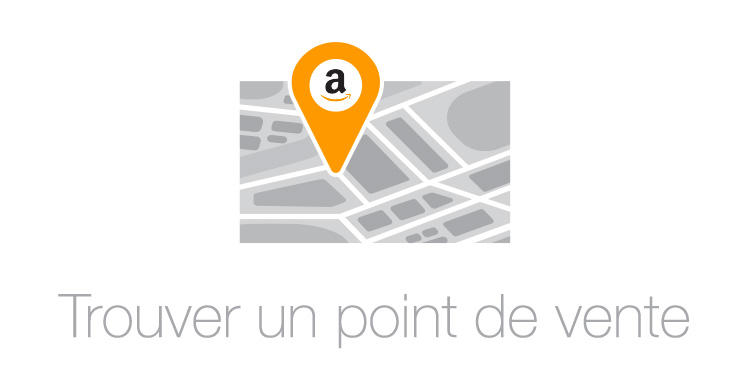 Trouver un point de vente