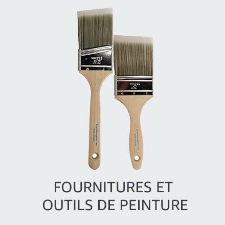 Fournitures et outils de peinture