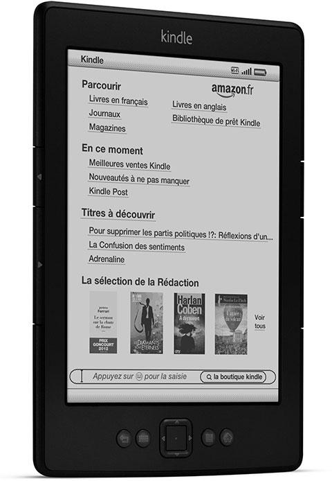 Kindle Reconditionne Certifie 6 15 Cm Affichage Encre Electronique E Ink Wi Fi Noir