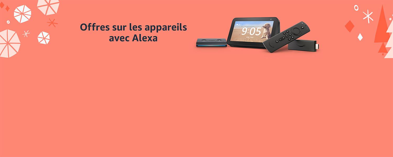 Offres sur les appareils avec Alexa