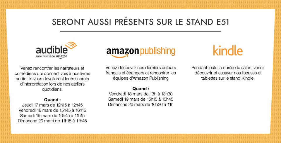 L'auto-édition avec Amazon - Salon du Livre de Paris 2016