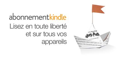 Abonnement Kindle : lisez en tout liberté