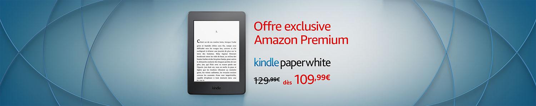 Kindle Paperwhite: Offre exclusive Amazon Premium