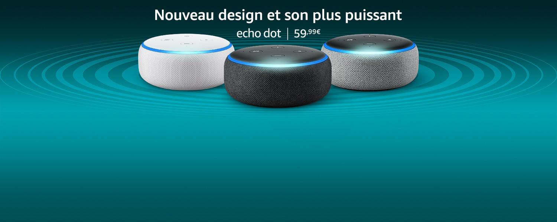 Nouveau Echo Dot