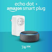 Nouveau Echo Dot + Amazon smart plug