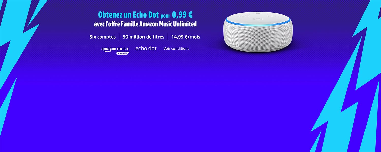 Echo Dot et Amazon Music Unlimited