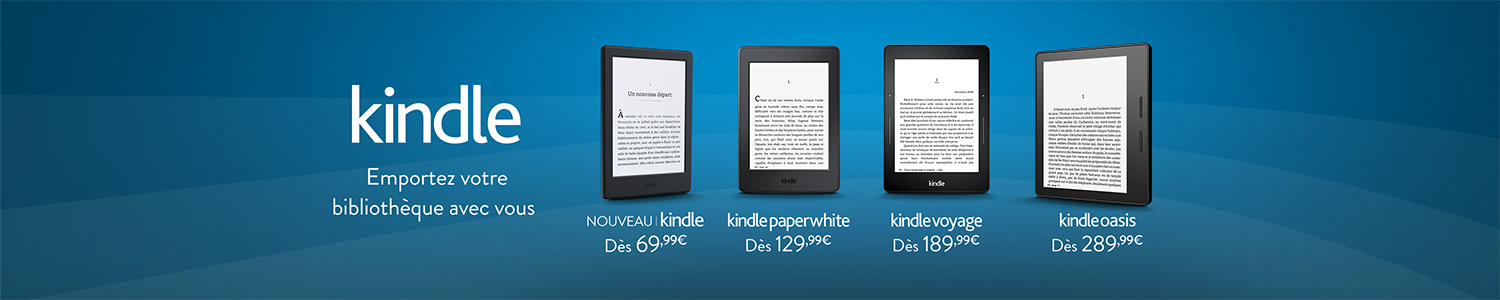 Liseuses Kindle