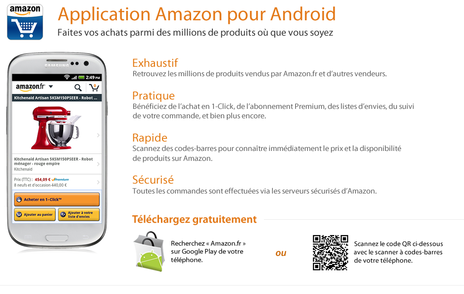 Amazon App Pour Android