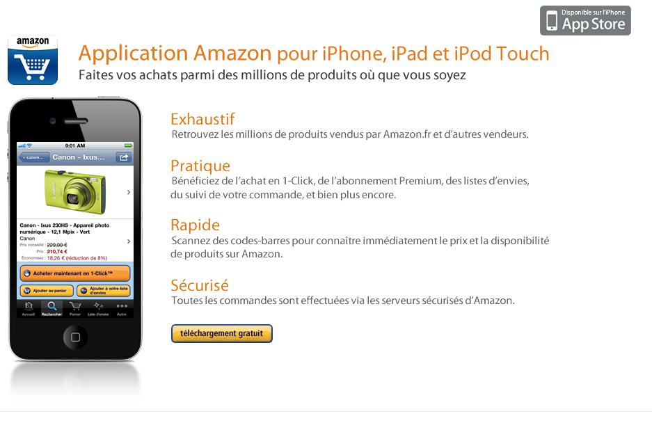 Amazon FR iPhone App