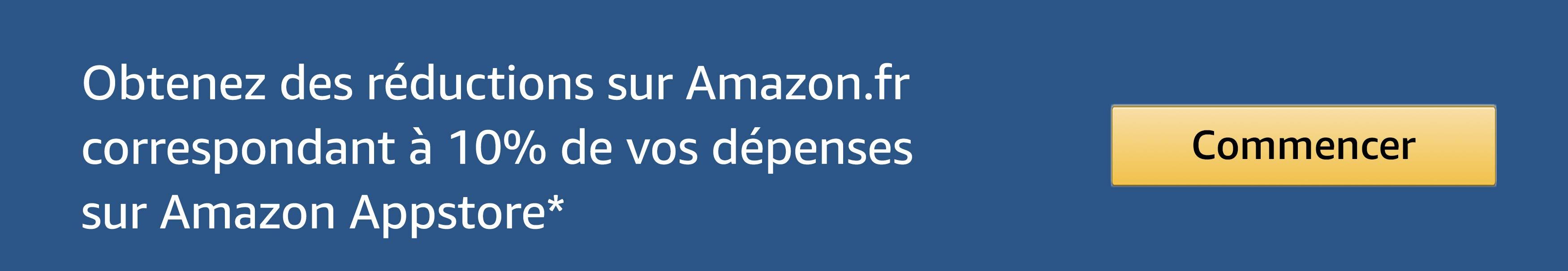 Obtenez 10% des réduction sur Amazon.fr