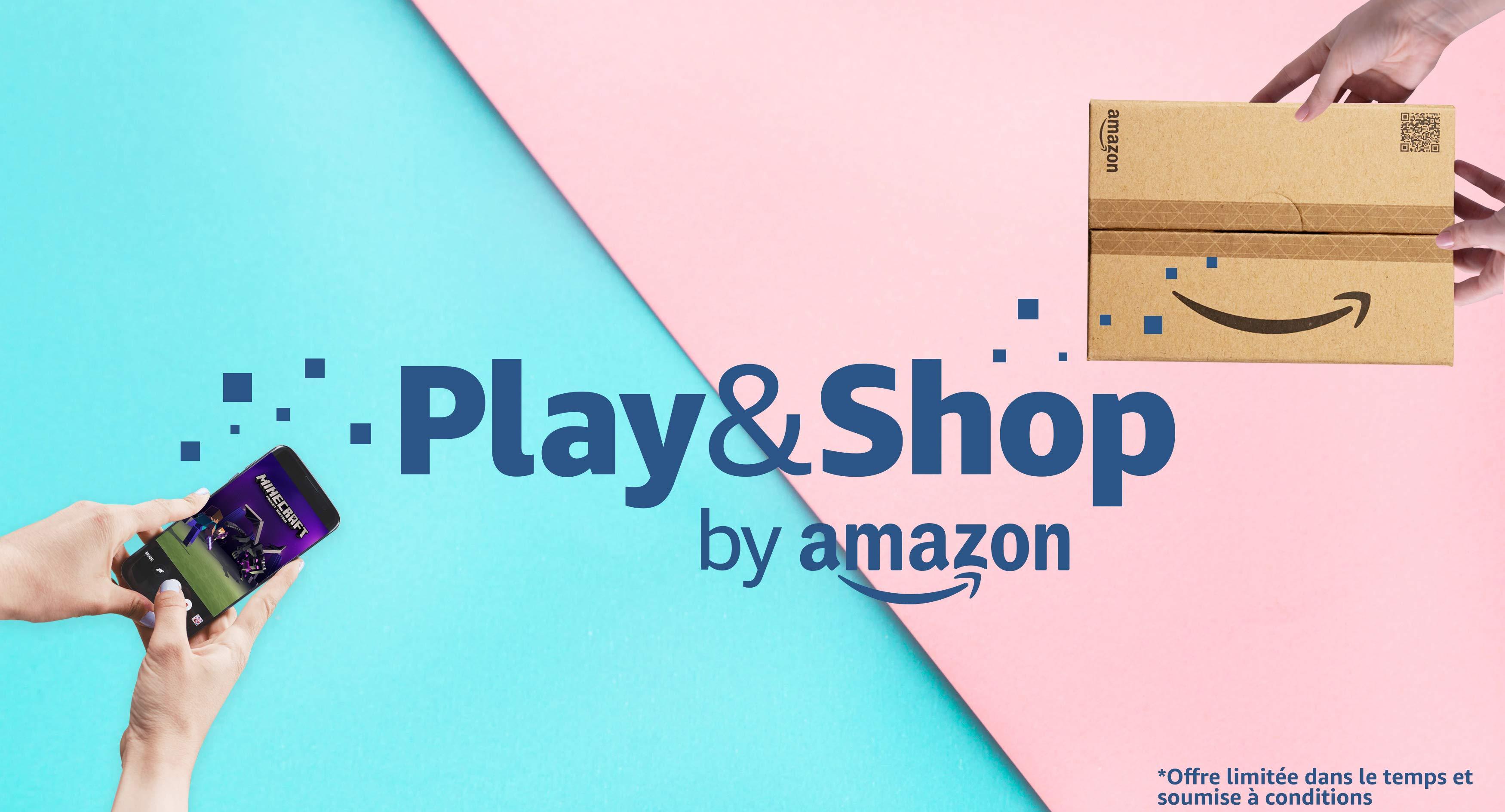 Play&Shop 10% Amazon Credit Back