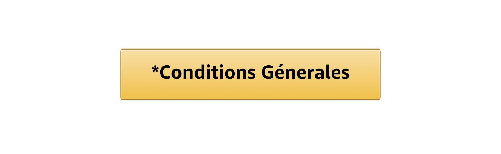 Conditions Génerales