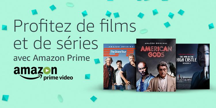 Profitez de films et séries sur Primevideo.com avec Amazon Prime