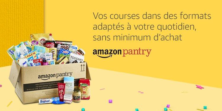 Pantry, vos courses dans des formats adaptés à votre quotidien, sans minimum d'achat