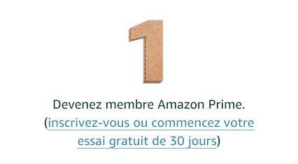 Devenez membre Amazon Prime