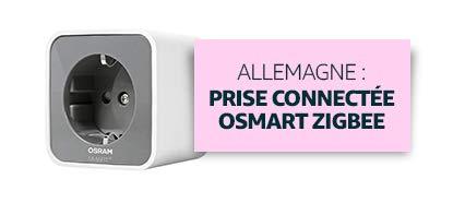 Allemagne : Prise connectée Osmart Zigbee