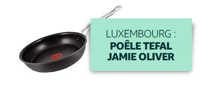 Luxembourg : Poêle Tefal Jamie Oliver