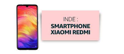 Inde : Smartphone Xiaomi Redmi
