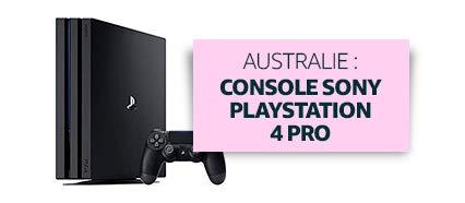 Australie : Console Sony Playstation 4 Pro