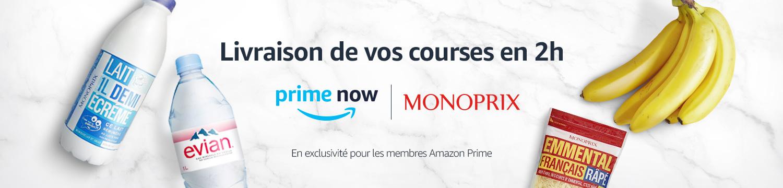 Amazon courses en livraison