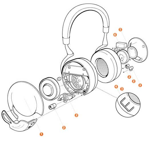 parrot zik by starck casque audio avec bluetooth  amazon