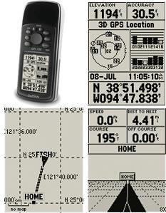 carte pour gps 72h