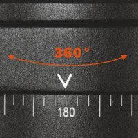 360-degree panning