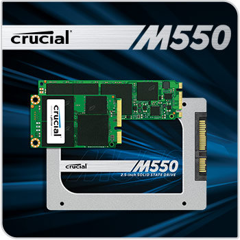 Crucial M550 SSD img1