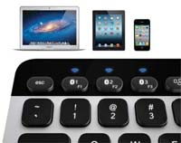 Bluetooth® Easy-Switch Keyboard