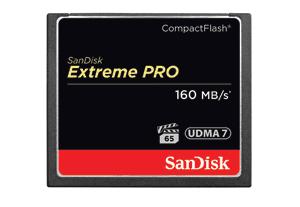 Carte mémoireCompactFlash SanDisk Extreme PRO